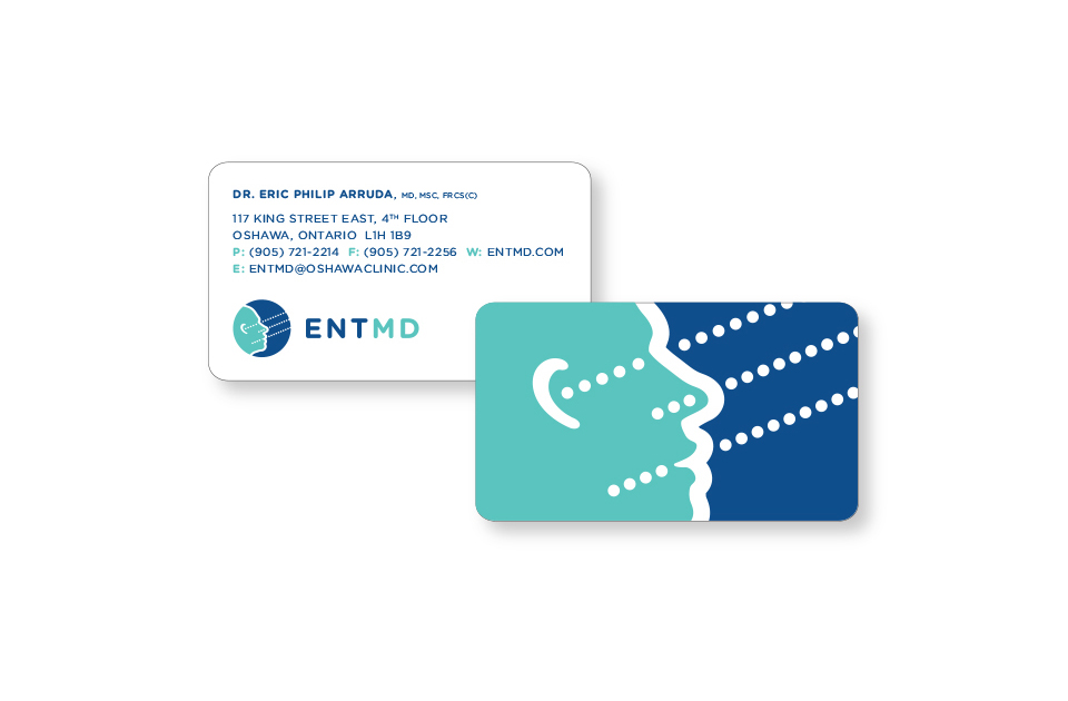 ENTMD business card