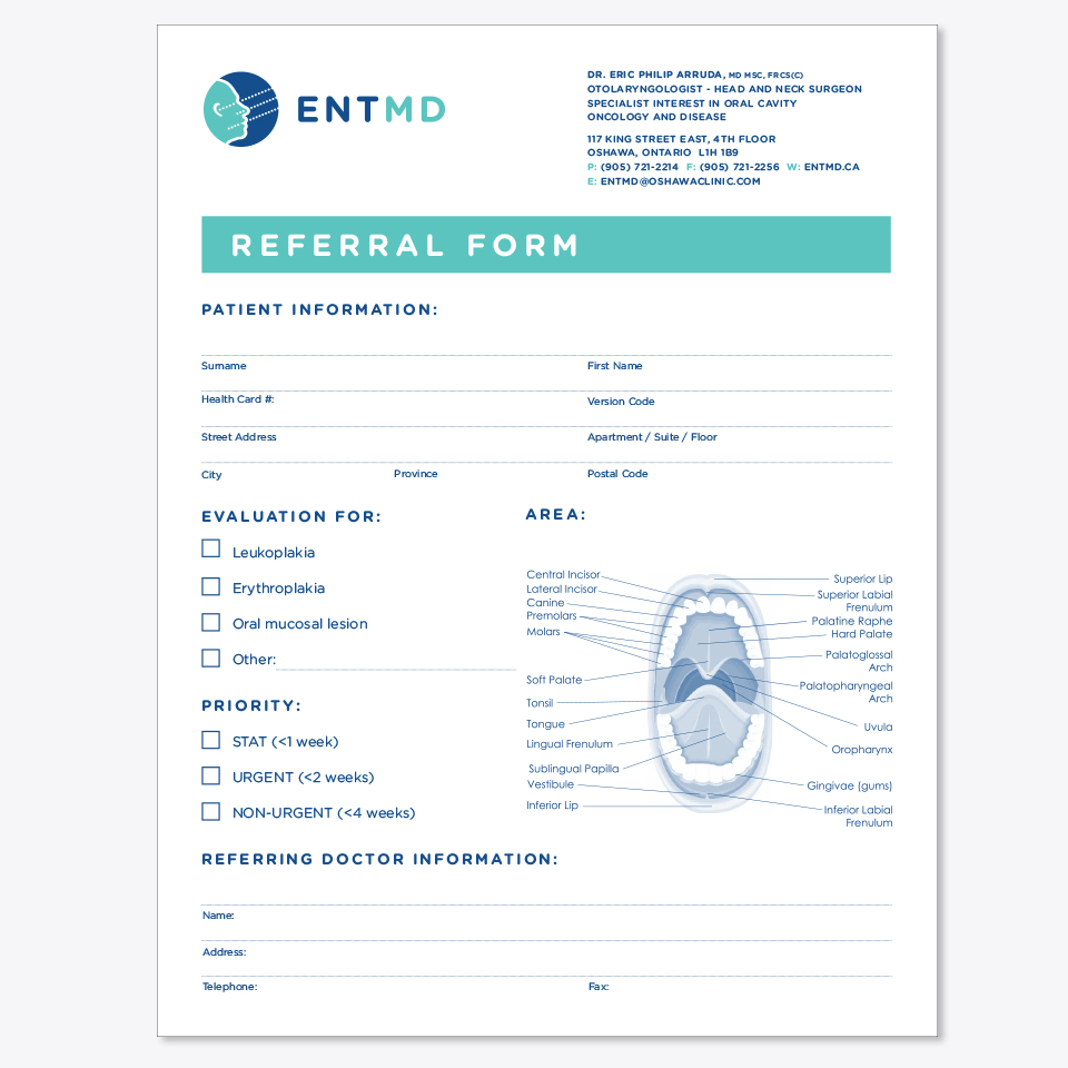 ENTMD referral form