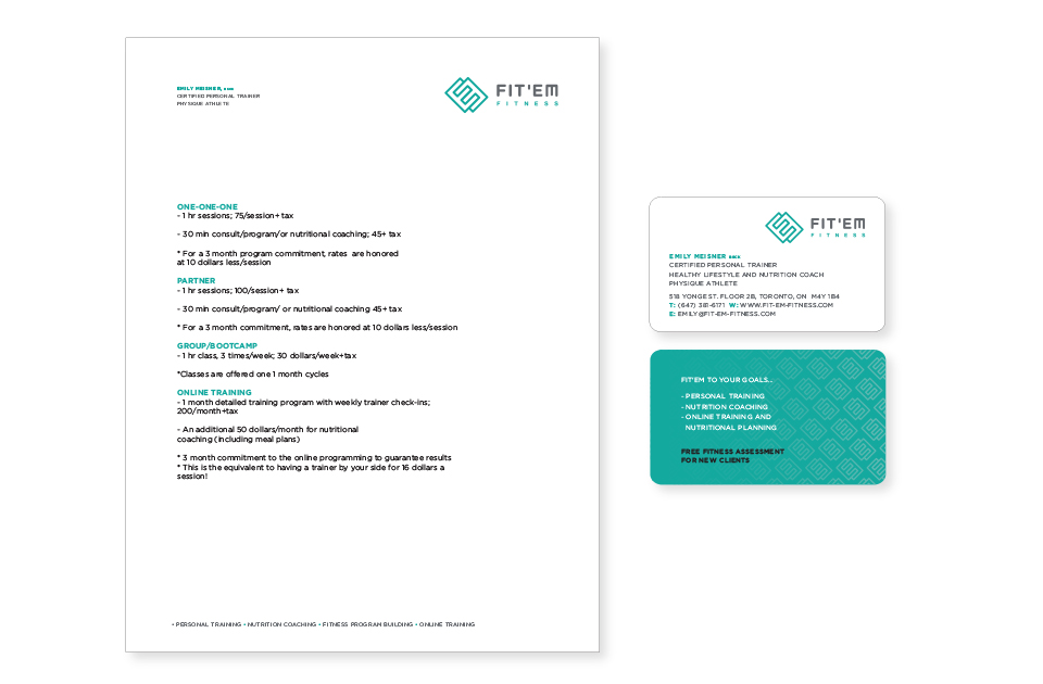 FIT-EM stationery