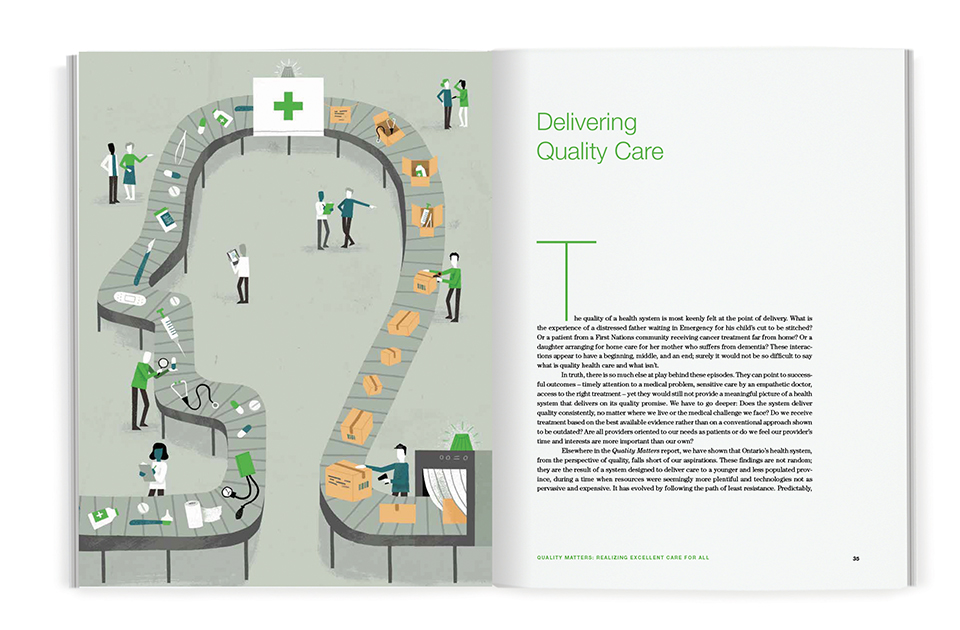 Spread of chapter titled Delivering Quality Care