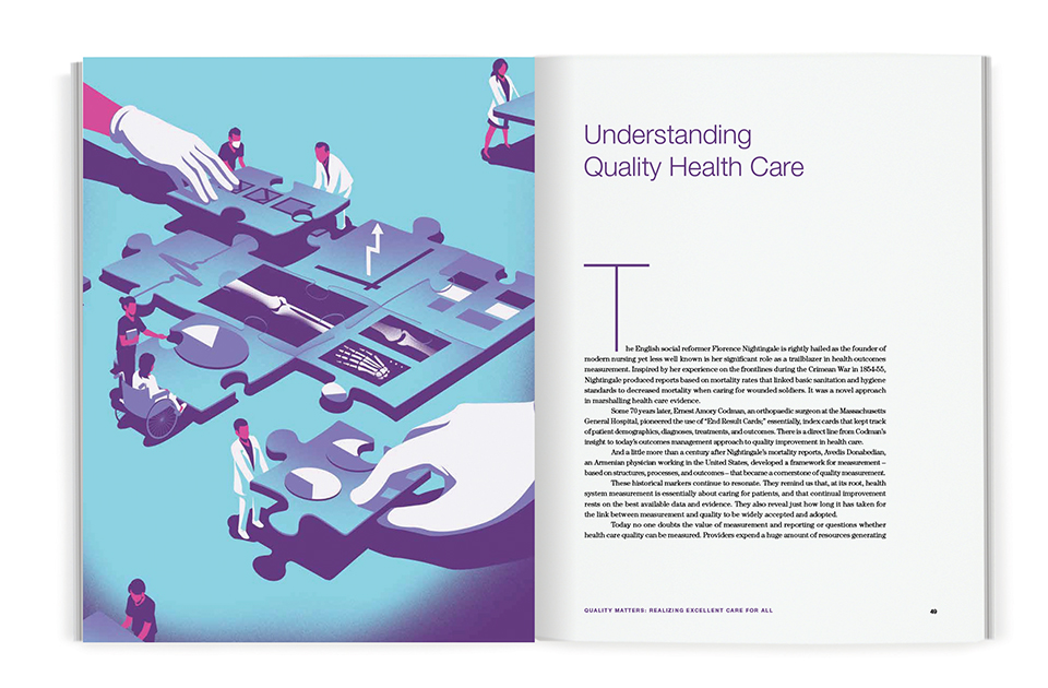 Spread of chapter titled Understanding Quality Health Care